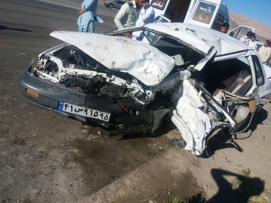3کشته ومجروح در سانحه رانندگی