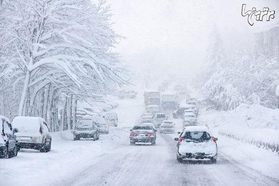نکات مهم وطلایی برای رانندگی در برف، باران و مه