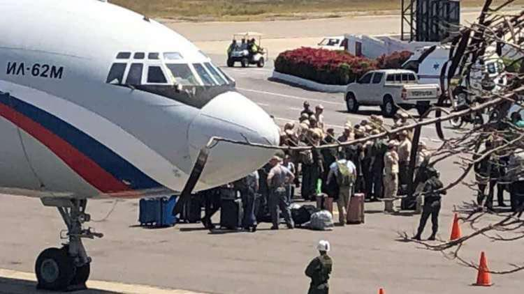 دو هواپیمای روسی حامل محموله وارد ونزوئلا شد