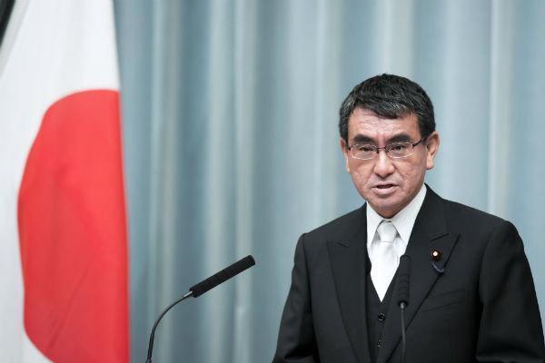 وزیر خارجه ژاپن تغییر می کند