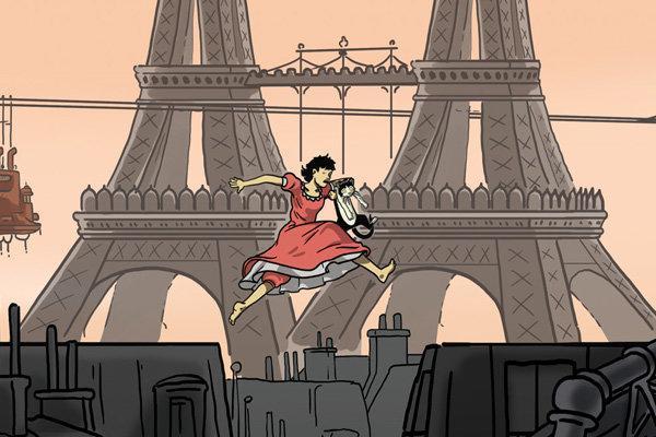 نگاهی به انیمیشن آوریل و دنیای جعلی و زیبایی فرانسوی آن