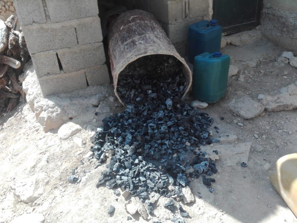 نابودی کوره های زغال در شهرستان رستم
