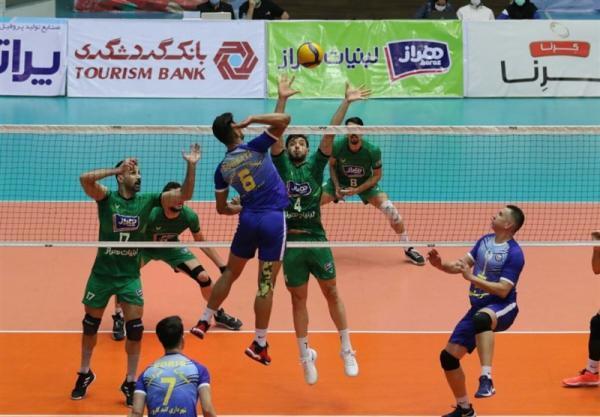 لیگ برتر والیبال، گنبد شگفتی ساز شد، پیروزی سپاهان مقابل پیکان